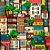 Saco Presente 25x37 - Casas Brasil - 50 unidades - Regina - Rizzo Embalagens - Imagem 1
