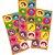 Adesivo Redondo Festa Maria Clara e JP - 30 unidades - Festcolor - Rizzo Festas - Imagem 1