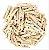 Mini Prendedor de madeira kraft 2,5cm - 30 peças - Imagem 1