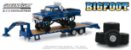 1974 FORD F-250 MONSTER TRUCK BIG FOOT + TRAILER PRANCHA 1/64 - Imagem 1