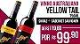Vinho Yellow Tail Shyrah 750ml +  Cabernet Sauvignon 750ml  - Imagem 1