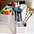 Caixa Organizadora de Objetos com 6 Porta Objetos Dello - Imagem 5