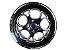 Jogo de rodas Replica Weld C10 Bolinha, Preta ou Dourada, Furação 4x100 / 5x114 Tala 4 / 7 - Imagem 2