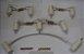 Kit portão para cerca elétrica  com isol - Imagem 1