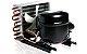 Unidade Condensadora ELGIN 0065D1I 1/5HP R-134A 127V 60HZ  - Imagem 1