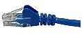 Patch cord UTP CAT5E 26AWG 2.5m azul - Imagem 3
