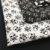 Kit de tricoline Caveiras branca fundo preto/ branca fundo preto (30 Unidades) 50x70cm cada 100%Algodão - Imagem 3