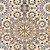 Tecido Jacquard Impermeabilizado Zellige Cinza-Amarelo- Marb 26 - Imagem 1