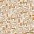 Papel de Parede Stone Age 2 - Tramas Bege e Laranja  - SN603601R - Imagem 1