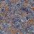 Papel de Parede Stone Age 2 - Azul Ferrugem - SN603901R - Imagem 1