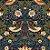 Papel de Parede Stone Age 2 - Azul Floral - SN604201R - Imagem 1