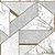 Papel de Parede Stone Age 2 - Geometria Branco e Cinza- SN606001R - Imagem 1
