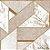 Papel de Parede Stone Age 2 - Geometria Pêssego e Branco - SN606002R - Imagem 1