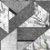 Papel de Parede Stone Age 2 - Geometria Chumbo e Branco - SN606003R - Imagem 1