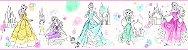 Papel de Parede Faixa Princesas - DI1021BDD - Imagem 2