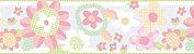 Papel de parede Borda Nido Infantil 8750-1 Flores Coloridas - Imagem 1