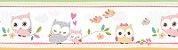 Papel de parede Borda Nido Infantil 8753-1 Corujinhas - Imagem 1