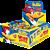 Chicle de Bola Tutti-Frutti Pica Pau com Figurinhas Adesivas Display 100 Un 400g - Buzzy - Imagem 1