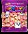Marshmallow Formato Moranguinho Max Mallows 250g - Catelândia - Imagem 1