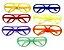 Óculos Diversos para Carnaval Embalagem Econômica 50 Unidades - Imagem 1