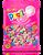 Pastilha Tutti-Frutti que Vira Chicle de Bola 100 Unidades PlastiClé - Docile - Imagem 1
