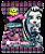 Pirulito Monster High com Figurinhas Adesivas 50 Unidades - Catelândia - Imagem 2