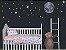 Jogo Lençol Berço Bebê Estampado - Bichinhos Rosa - Sulbrasil - 3 Peças - Imagem 2