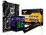 KIT PROCESSADOR CORE I5 8400 + Z370-PLUS TUF GAMING ASUS + 8GB HYPERX FURY DDR4 - Imagem 1