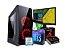 PC GAMER LÍDER MÉDIO, CORE I3 9Gº,H310M, 8GB, SSD 240GB, RX 550 4GB, MONITOR 20PL, FONTE 500W, TECLADO E MOUSE - Imagem 1