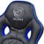 Cadeira de escritório Pcyes Mad Racer STI Master gamer blue - Imagem 5