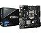 PLACA MAE ASROCK H310CM-HG4 DDR4 SOCKET LGA1151 CHIPSET INTEL H310 - Imagem 1
