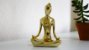 Estatua Meditação Gold - Imagem 1