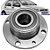 Cubo Roda Traseiro Rolamento Palio Siena Fire 1.0 1.3 1.4 2001 em diante - Imagem 1