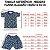 Pijama Infantil 100% Algodão Manga Curta TUBARÃO - Imagem 3