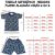 Pijama Infantil 100% Algodão Manga Curta VIDEOGAME AZUL - Imagem 2
