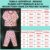 Pijama Infantil Soft RAPOSAS FLOREST - Imagem 3
