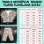 Pijama Flanela Botões ESTRELAS - Imagem 3