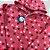 Pijama Infantil SOFT Capuz Punho CORAÇÕES PESSEGO - Imagem 2