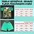 Pijama Infantil Manga Curta TARTARUGA NINJA - Imagem 4