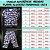 Pijama Infantil 100% Algodão BORBOLETAS VERMELHAS - Imagem 2