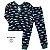 Pijama Infantil SLIM Peixes Marinho Manga Longa - Imagem 3