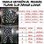 Pijama Infantil SLIM Peixes Color Manga Longa - Imagem 6