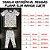 Pijama Infantil SLIM Peixes Marinho Manga Curta - Imagem 3