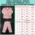 Pijama Infantil Soft ESTRELAS CORAÇÕES ROSE - Imagem 3