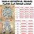 Pijama Infantil SLIM Cinza Mescla Laranja Manga Longa - Imagem 5
