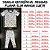 Pijama Infantil SLIM BRILHA ESCURO Estrelas Marinho Curta - Imagem 8
