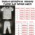 Pijama Infantil SLIM BRILHA ESCURO Estrelas Preto Curta - Imagem 6