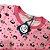 Pijama Infantil SLIM Floresta Rosa Manga Longa - Imagem 3