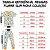 Pijama Infantil SLIM PANDAS VERDE ÁGUA Manga Curta - Imagem 7