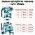 Pijama Infantil SARUEL CAMUFLADO VERDE - Imagem 5